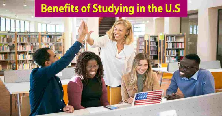 study in USA benefits